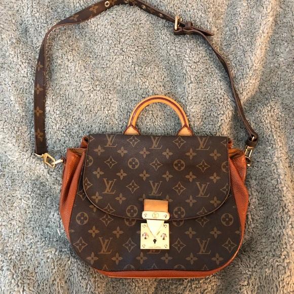 252179bb30c9 Louis Vuitton Handbags - Louis Vuitton Havane   Monogram Canvas Eden MM
